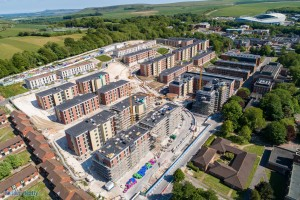 University of Sussex, East Slopes' Residences - Fusion Building Systems
